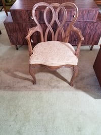 Retro Mid Century Accent Chair - French Provincial - French Country Chadds Ford