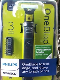 Philips Norelco ONE BLADE electric razor San Francisco, 94112