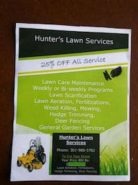 HUNTERS LANSCAPING SERVICES- Fall Clean Up Germantown, 20874
