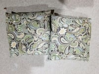 gray and green floral textile Frederick