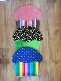Three Cupcake Placemats Edmonton, T5A 3H2