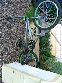 gray and green BMX bike Santa Fe, 87507