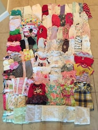 Baby girl clothes 0/3months up to 9months