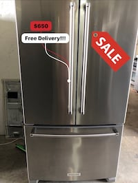 """KitchenAid 36"""" Stainless Steel/ No water/ Free Delivery  Pembroke Park, 33023"""
