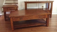 Set of 3 Tales: Coffee Table, Side Table & Console Table Wilsonville