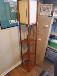 Floor lamp with shelves Chicago, 60625