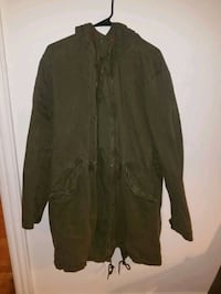 Hooded army trench coat Monmouth County, 07756