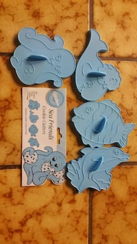 Wilton sea friends cookie cutters, all four for $5 Tracy, 95304