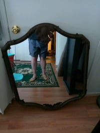 Heavy wrought iron beautiful mirror 2061 mi