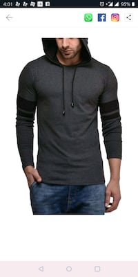 men's black long sleeve shirt Mumbai, 400011