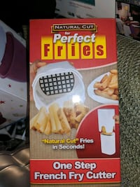 Brand new in box french fry cutter.