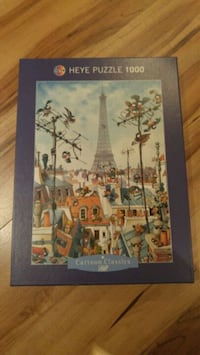 Eiffel tower puzzle St. Catharines
