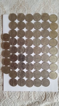 """Rare Olympic Soviet collectible coins """" Roubles """" Mississauga, L4Y 2A6"""