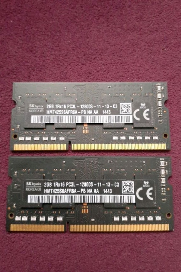 DDR3 4GB (2GB+2GB) SKHYNIX NOTEBOOK RAM