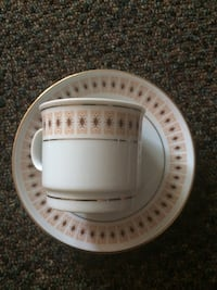 Made in Liling China set of six espresso sized cups and saucers- best offer  London, N5Z