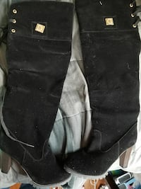 Woman's dress boots size 11 1/2
