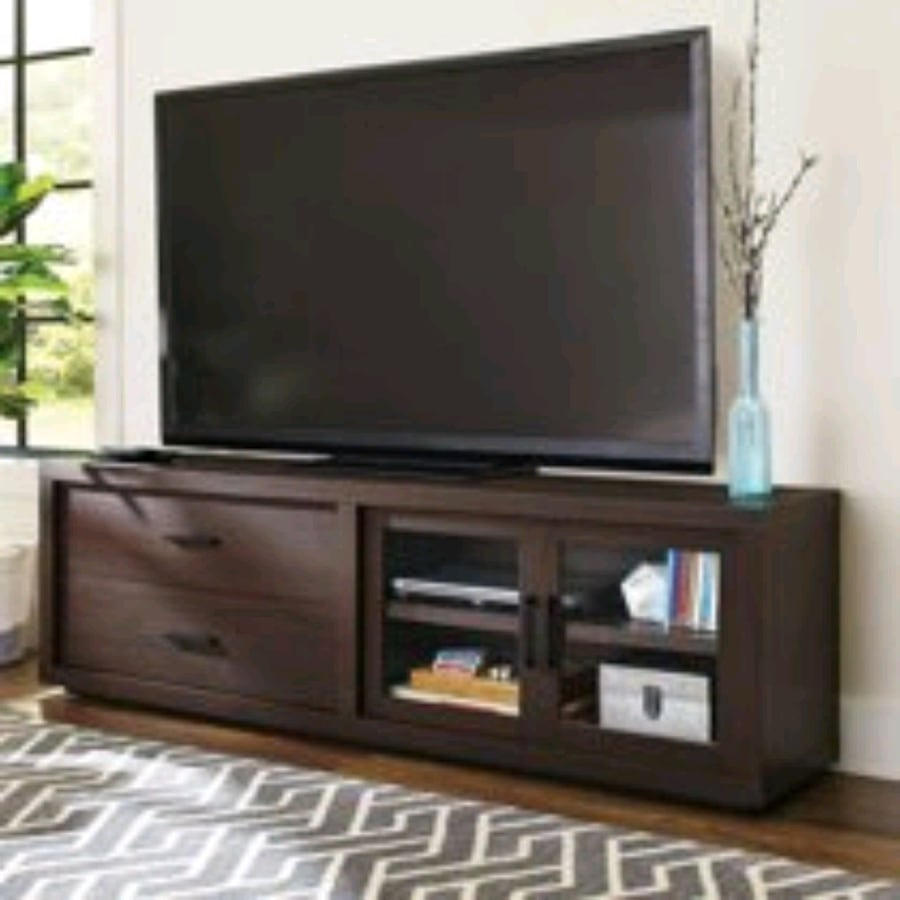 """TV Stand for TV's up to 80"""", Espresso. (Better Homes & Gardens Steele)"""