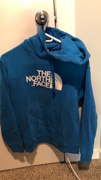 blue and white pullover hoodie Winnipeg, R2M 0Z6