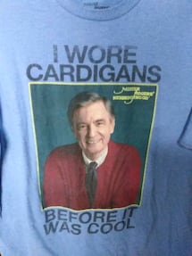 Mister Rogers t shirt