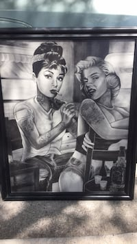 Marilyn Monroe photo with black wooden frame El Paso, 79936