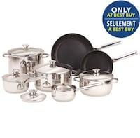 Mint in Box Paderno Culina 12-Piece Stainless Steel Cookware Set Toronto, M5A 4R1
