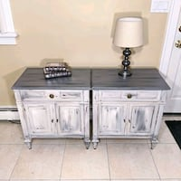 matching nightstands or end tables