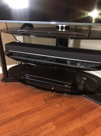 3 Tiered Glass TV Stand