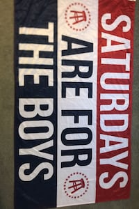 Barstool Saturdays are for the Boys Flag
