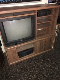 TV and stereo stand and TV included Best offer Rahway, 07065