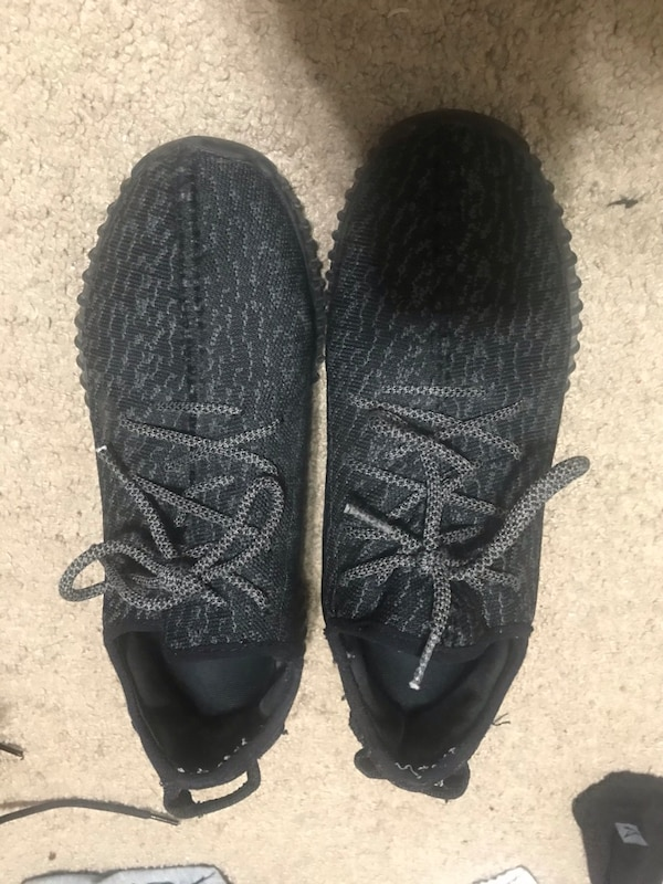 c6111a1b911cd Used UA PIRATE BLACK YEEZYS for sale in Roseville - letgo
