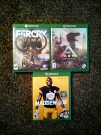 Xbox one games all for $30