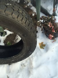 205R55/16 (2)Winter  tires excellent condition Montréal, H1X 2P7