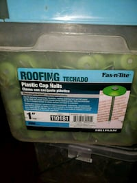 Plastic cap nail roofing  Los Angeles, 91405