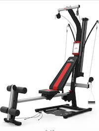 Black and red exercise equipment Palmdale, 93550