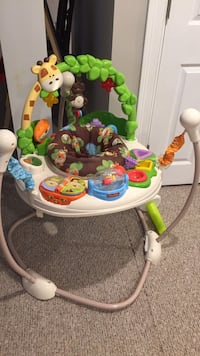baby's white and green Fisher-Price jumperoo Holliston, 01746