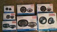 Clarion  coaxial speakers Starting at 25$ United States