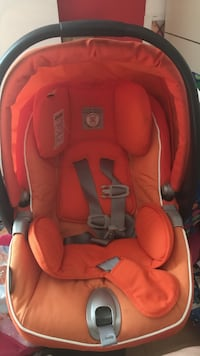 Peg-perego car seat great condition has a little bit of a little black mark on top but is still great for safety has never been in an accident selling for 120 but I am negotiable as I know lots of new mothers cannot afford a brand new car seat Bethesda, 20817