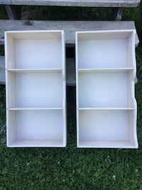 2 awesome little antique cupboards / shelves  Châteauguay, J6J 5H9