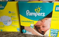 Pampers Swaddlers disposable diaper box McAllen, 78504