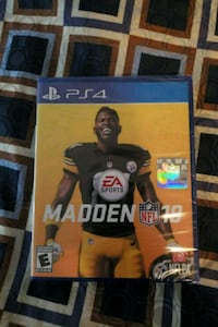 Sony PS4 Madden NFL 19 game case Los Angeles, 91405