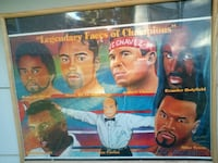 1998(( double signed)) boxing poster Des Moines, 50316