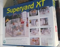 North States Superyard XT  Like new condition!  Safe, high quality play area that works on any surface and will not scratch  Easy open for quick access  Folds up quickly  No assembly required  Convenient carry handle for easy portability.  Indoor or outdo Toronto