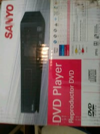Sanyo DVD player with remote control new in the box