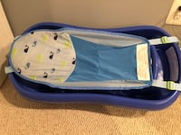 The First Years Sure Comfort Deluxe Newborn To Toddler baby bath Tub, Blue Chevy Chase, 20815