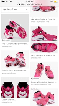 Lebron nike shoes soldier 9 Madera, 93638