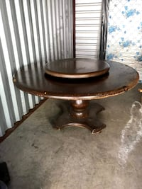 Solid Wood Circle Table