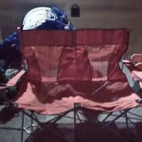New canton bag double folding chair no holds call  Allen