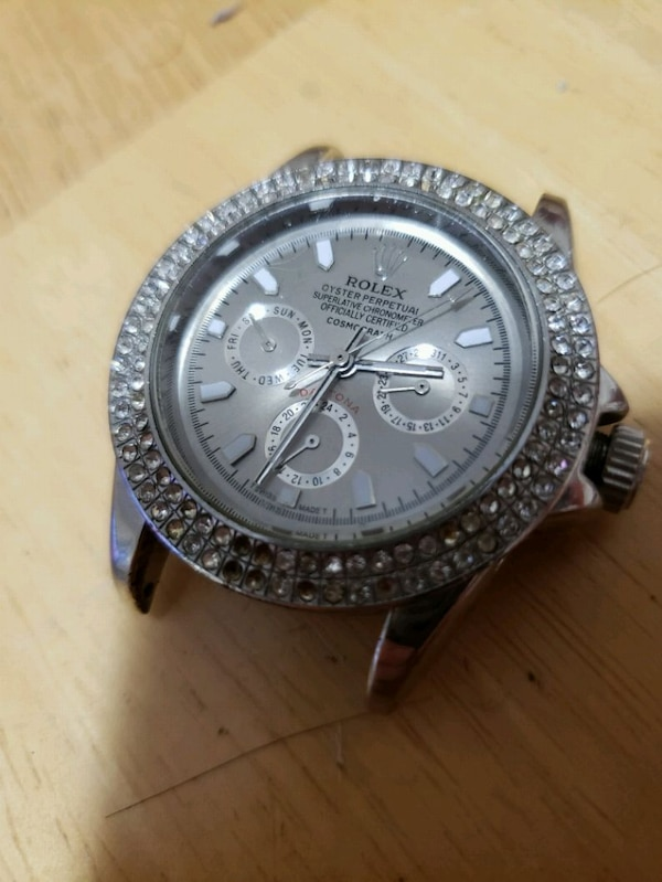 Rolex face have links missing frw