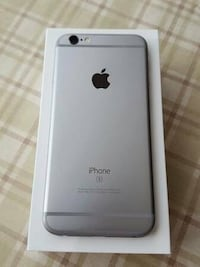 space gray iPhone 6 on box
