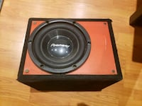 """10"""" Pioneer Subwoofer and Rockford Fosgate Punch p300-1 amp  Vaughan, L4H"""